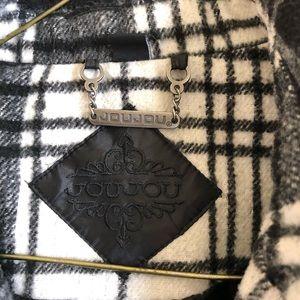 Jou Jou Jackets & Coats - Jou Jou plaid double breasted coat size M